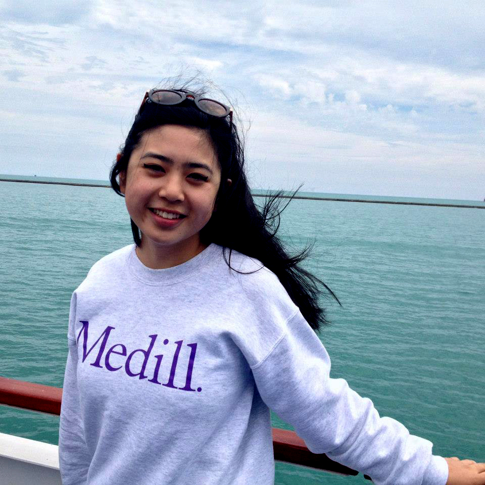 """""""Simply, the boat ride is what made me fall in love with Chicago and love the city more than my hometown,"""" said Abigail Felix of California. <br> Even though it was windy, Abigail thoroughly enjoyed herself."""