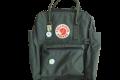 A green backpack